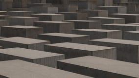 berlin преграждает разбивочный конкретный различный whit памятника холокоста максимумов Германии Стоковое Фото