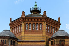 berlin строя бывшюю почту Стоковые Фотографии RF
