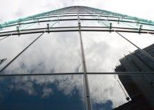 berlin строя самомоднейшие отражая окна Стоковое Изображение RF