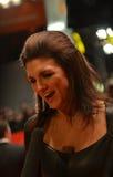 BERLIN - 15. FEBRUAR: Gina Carano kommt für das scree an Lizenzfreie Stockbilder