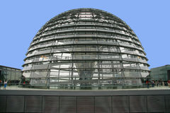 Berlin. SEPTEMBER 2: Reichstag dome - top of famous parliament building in  September 2, 2006 in , Germany Royalty Free Stock Images