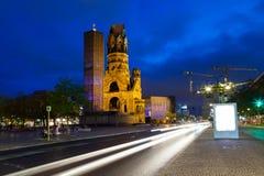 Berlin. Kaiser Wilhelm Memorial Church on Kurfurstendamm, Berlin Germany Europe Royalty Free Stock Photo