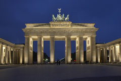 Berlin. Brandenburger Tor by night, Berlin, Germany stock images