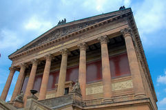 Berlin. Old National gallery royalty free stock photography