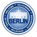 Berlin-Abzeichen vektor abbildung