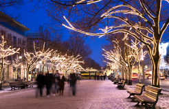 Berlin advent royalty free stock images