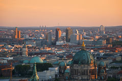 Berlin aerial image Royalty Free Stock Image