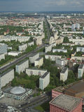 Berlin aerial view Royalty Free Stock Image