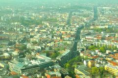 Berlin aerial Stock Photography