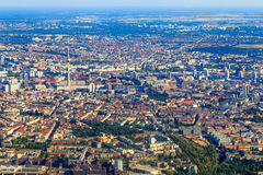 Berlin aerial view Royalty Free Stock Photography