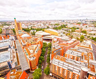 Berlin, aerial view modern architecture Royalty Free Stock Photos