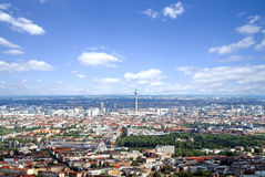 Berlin - aerial view Royalty Free Stock Image