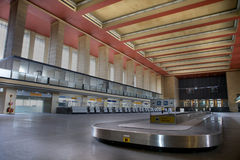 Berlin Airport. Historic building, rare indoor view, closed to the public, build during world war 2 Stock Images