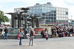 Berlin Alexander Square Image stock