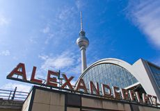 Berlin Alexanderplatz Images stock