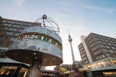 Berlin alexanderplatz fotografering för bildbyråer