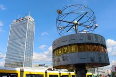 Berlin Alexanderplatz Royalty Free Stock Photo