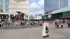 Berlin Alexanderplatz stock video