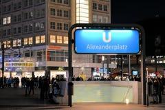 Berlin Alexanderplatz Stock Images