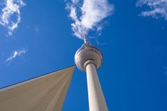 Berlin Alexanderplatz with TV tower Royalty Free Stock Photography