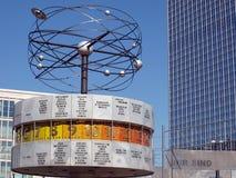 Berlin Alexanderplatz World Clock Stock Images