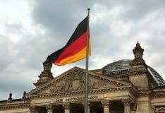 Berlin, Allemagne - 18 août 2017 : Bâtiment de Reichstag à Berlin photos libres de droits