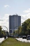Berlin, Allemagne 27 août : Bâtiment technologique d'université de Berlin en Allemagne Photos stock
