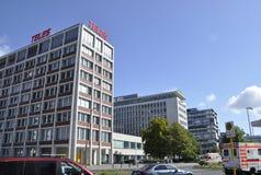 Berlin, Allemagne 27 août : Fond de logement à caractère social de Berlin en Allemagne Photographie stock libre de droits