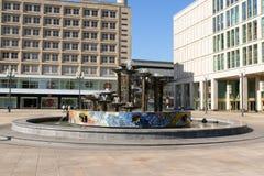 Alexanderplatz à Berlin, Allemagne Photographie stock libre de droits