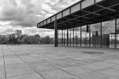 BERLIN, ALLEMAGNE - JUILLET 2015 : Vue extérieure du Neue Nationa Photo stock