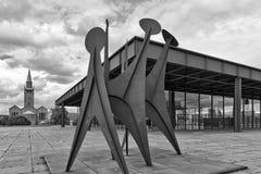 BERLIN, ALLEMAGNE - JUILLET 2015 : Vue extérieure du Neue Nationa Images libres de droits