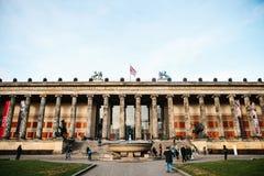 Berlin, Allemagne le 15 février 2018 : Vieux musée ou musée d'Altes Musée d'Art à Berlin sur l'île de musée néoclassique photos stock