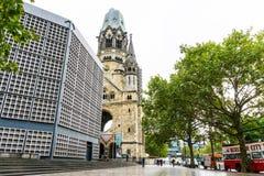 BERLIN, ALLEMAGNE 7 octobre : Vue typique de rue le 7 octobre 2016 Images stock