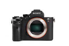 19 12 2015, BERLIN, ALLEMAGNE, Sony Alpha a7R II ILCE-7RM2 Mirro Photographie stock