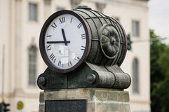 Berlin ancient clock Royalty Free Stock Images
