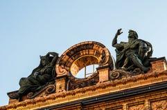 Berlin Anhalter Bahnhof Stock Images