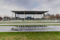 BERLIN - APIRL 17, 2013 : The Paul Loebe Haus parliamentary buil Royalty Free Stock Photo