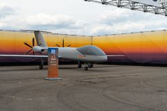 Exhibition ILA Berlin Air Show 2018. Royalty Free Stock Photography