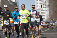 Berlin half marathon Royalty Free Stock Images