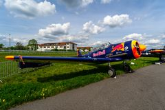 Exhibition ILA Berlin Air Show 2018. Royalty Free Stock Images