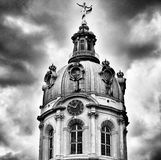 Berlin archirecture. Artistic look in black and white. Stock Photos