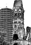 Berlin archirecture. Artistic look in black and white. Royalty Free Stock Photo