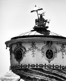 Berlin archirecture. Artistic look in black and white. Stock Photo