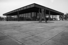 New National Gallery (Neue Nationalgalerie), Berlin, Germany. New National Gallery (Neue Nationalgalerie), Berlin, Germany Stock Photos
