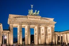 Berlin - AUGUST 4, 2013: Brandenburg Gate on Royalty Free Stock Photos