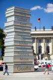 Berlin, auteurs allemands Photo stock