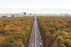 Berlin Autumn Royaltyfri Foto