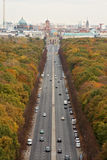 Berlin Autumn. Autumn in Berlin from pictured from the Victory Column Royalty Free Stock Photo