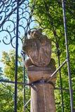 Berlin Bear monument near Nikolaikirche church. In Germany Stock Photography