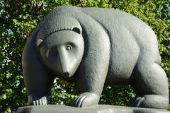 Berlin Bear na ponte imagem de stock